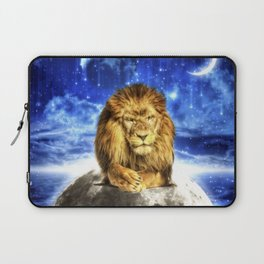 Grumpy Lion Laptop Sleeve