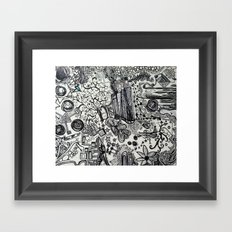 Black/White #2 Framed Art Print