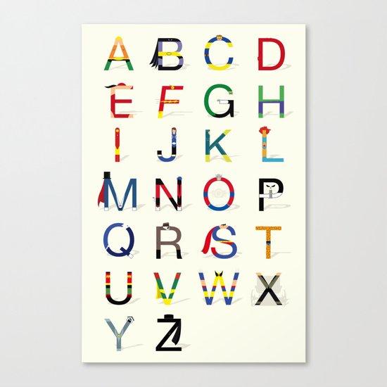 ABC SH Canvas Print