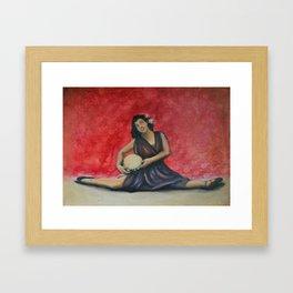 Folk Ballet Framed Art Print