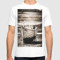 Dreadnought White Mens Fitted Tee MEDIUM