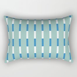 Lane Dividers Rectangular Pillow