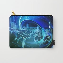 Blaue Stadt - Blue City Carry-All Pouch