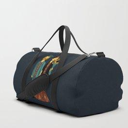 Love is Art Frida Kahlo and Van Gogh Duffle Bag