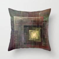 frames Throw Pillows featuring Frames by TilenHrovatic