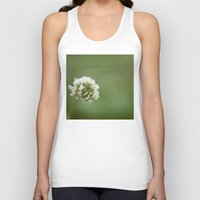 clover Tank Tops featuring clover by studiomarshallarts