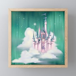 Star Castle In The Clouds Framed Mini Art Print