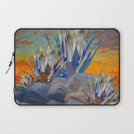AGAVE CACTI DESERT SUNSET LANDSCAPE ART Laptop Sleeve
