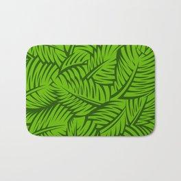 Great Palm Leaves Bath Mat
