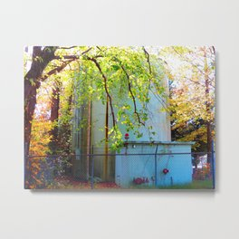 Toxic Nature Metal Print