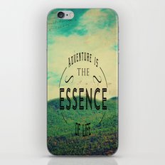 Essence Of Life  iPhone & iPod Skin
