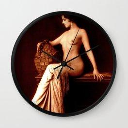 Dorothy Knapp Vintage Sophistication Wall Clock