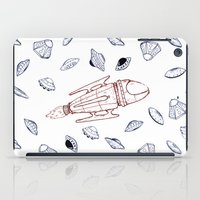 ufo iPad Cases featuring UFO by Suika