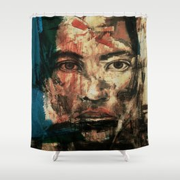 The Human Race 2 Shower Curtain