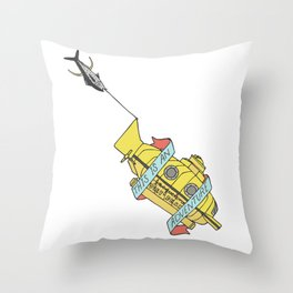 This Is An Adventure | The Life Aquatic with Steve Zissou Throw Pillow