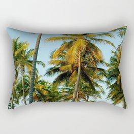 Palms in Punta Cana Rectangular Pillow