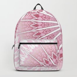 Dusky Pink Mandala Backpack