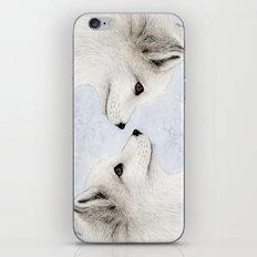 Polar Fox Profile iPhone & iPod Skin