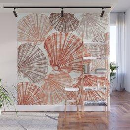 Fossils Sea Shells: Natural  Wall Mural