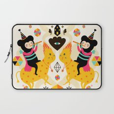 Music is happiness Laptop Sleeve