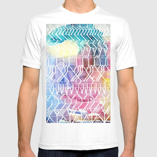 colorful Indians T-shirt