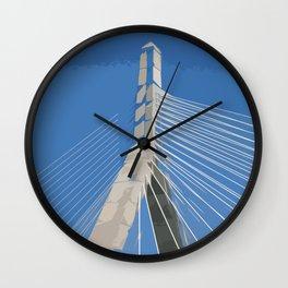 Zakim Bridge Wall Clock