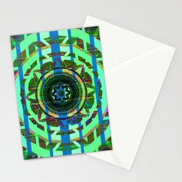 343 8 Irish Mandala Stationery Cards