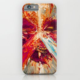 Sacred love III iPhone Case