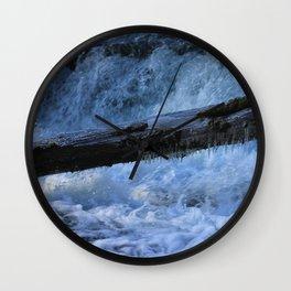 A Colder Winter Wall Clock