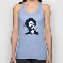 Nina Simone No Fear Unisex Tank Top