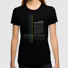 Philosophia II: I think, therefore I am T-shirt