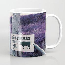 Beware of Bull Coffee Mug