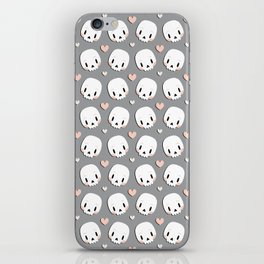 Skulls in love iPhone Skin