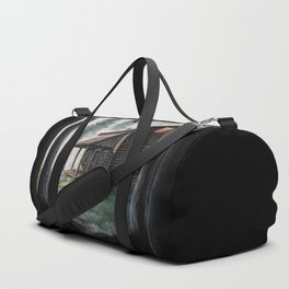 Cabin in the Pines Duffle Bag