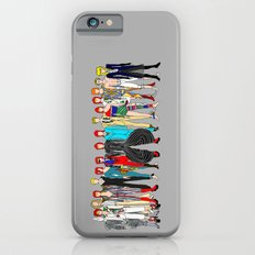Gray Bowie Group Fashion Outfits iPhone 6 Slim Case