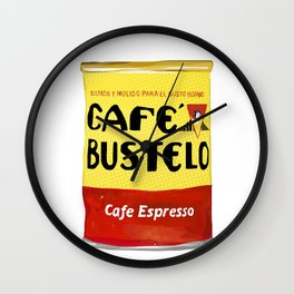 Cafe Bustelo Cuban Coffee Wall Clock