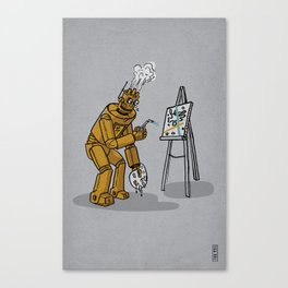 Art is for Humans Canvas Print