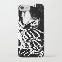 bane iPhone & iPod Cases featuring Bane by DeMoose_Art