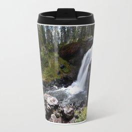 Moose Falls, Yellowstone Travel Mug