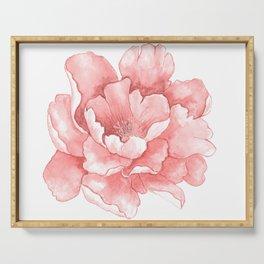 Beautiful Flower Art 21 Serving Tray