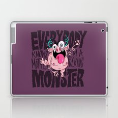 Everybody Knows I'm a Monster Laptop & iPad Skin
