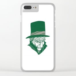 A Christmas Carol: Scrooge Clear iPhone Case