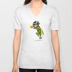 Robin, the Boy Wonder Sketch Unisex V-Neck