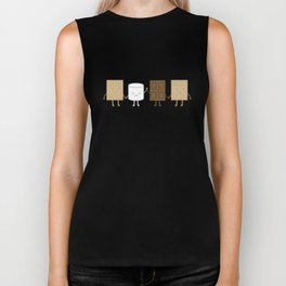 Life is S'more Fun Together Biker Tank