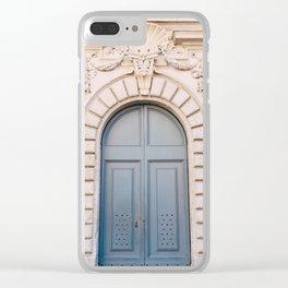 Roman Door XIX Clear iPhone Case