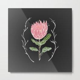 Heather's Protea Metal Print