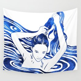 Water Nymph IV Wall Tapestry