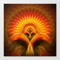 tree of life Canvas Prints featuring Life Tree by Christine baessler