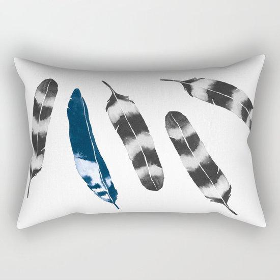 Feather Drift Rectangular Pillow