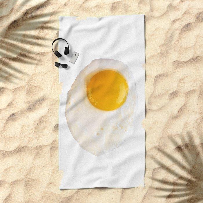 Fried Egg Beach Towel